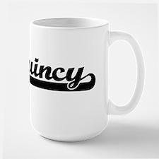 Quincy Classic Retro Name Design Mugs
