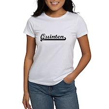 Quinten Classic Retro Name Design T-Shirt