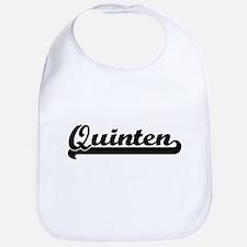 Quinten Classic Retro Name Design Bib