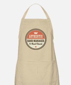 Band Manager Funny Vintage Apron
