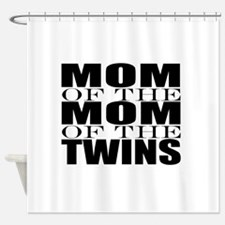 Twins nana Shower Curtain