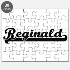 Reginald Classic Retro Name Design Puzzle