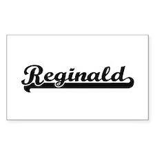 Reginald Classic Retro Name Design Decal