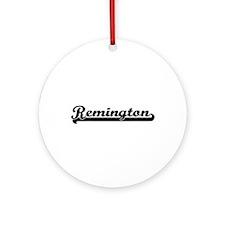 Remington Classic Retro Name Desi Ornament (Round)