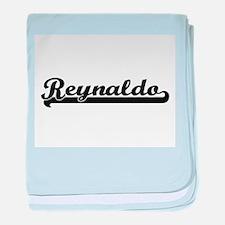 Reynaldo Classic Retro Name Design baby blanket