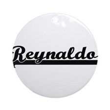 Reynaldo Classic Retro Name Desig Ornament (Round)