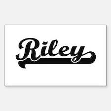 Riley Classic Retro Name Design Decal