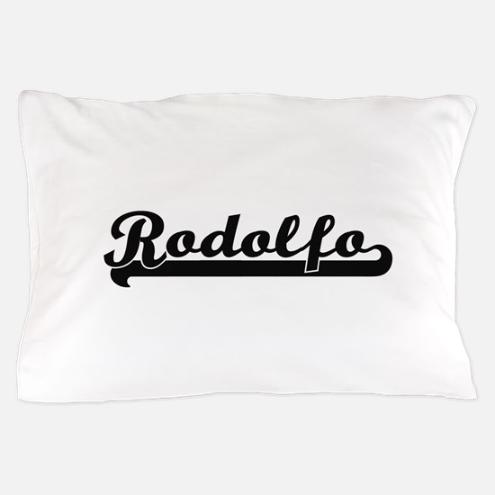 Rodolfo Classic Retro Name Design Pillow Case
