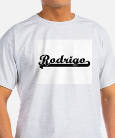 Rodrigo Classic Retro Name Design T-Shirt