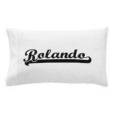 Rolando Classic Retro Name Design Pillow Case
