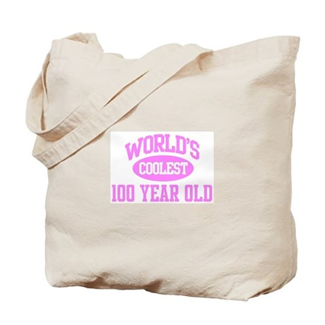 Coolest 100 Year Old Tote Bag