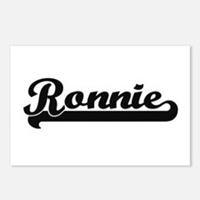 Ronnie Classic Retro Name Postcards (Package of 8)
