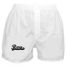 Roy Classic Retro Name Design Boxer Shorts