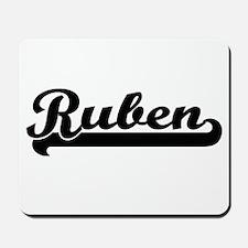 Ruben Classic Retro Name Design Mousepad