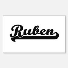 Ruben Classic Retro Name Design Decal