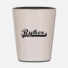 Ryker Classic Retro Name Design Shot Glass
