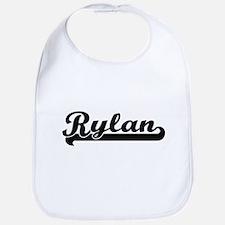 Rylan Classic Retro Name Design Bib