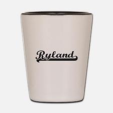 Ryland Classic Retro Name Design Shot Glass