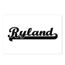Ryland Classic Retro Name Postcards (Package of 8)
