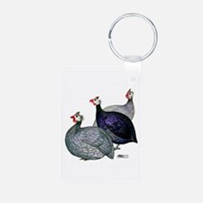 Guineas Three Keychains