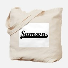 Samson Classic Retro Name Design Tote Bag