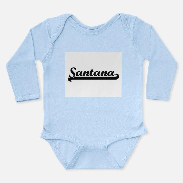 Santana Classic Retro Name Design Body Suit