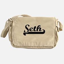 Seth Classic Retro Name Design Messenger Bag
