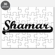 Shamar Classic Retro Name Design Puzzle