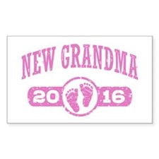 New Grandma 2016 Stickers