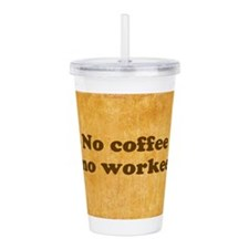 Coffee Needed Acrylic Double-wall Tumbler