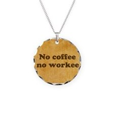 Coffee Needed Necklace
