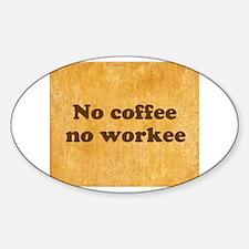 Coffee Needed Decal
