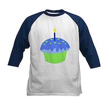 Blue Birthday Cupcake Tee