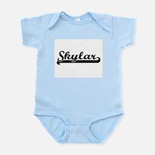 Skylar Classic Retro Name Design Body Suit