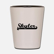 Skyler Classic Retro Name Design Shot Glass