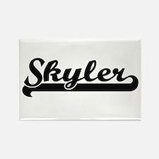 Skyler Classic Retro Name Design Magnets