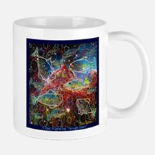 Fishes Migrating Though Space Mugs