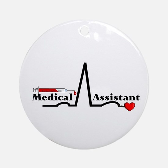 Medical Assistant Ornament (Round)