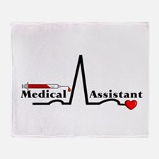 Medical Assistant Throw Blanket