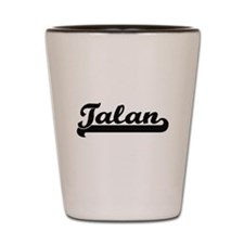 Talan Classic Retro Name Design Shot Glass