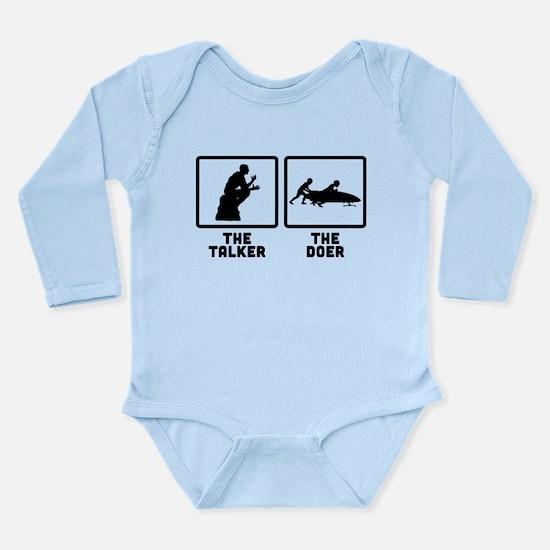 Bobsled Long Sleeve Infant Bodysuit