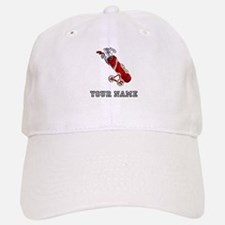 Golf Bag On Wheels (Add Name) Baseball Baseball Baseball Cap