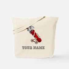 Golf Bag On Wheels (Add Name) Tote Bag
