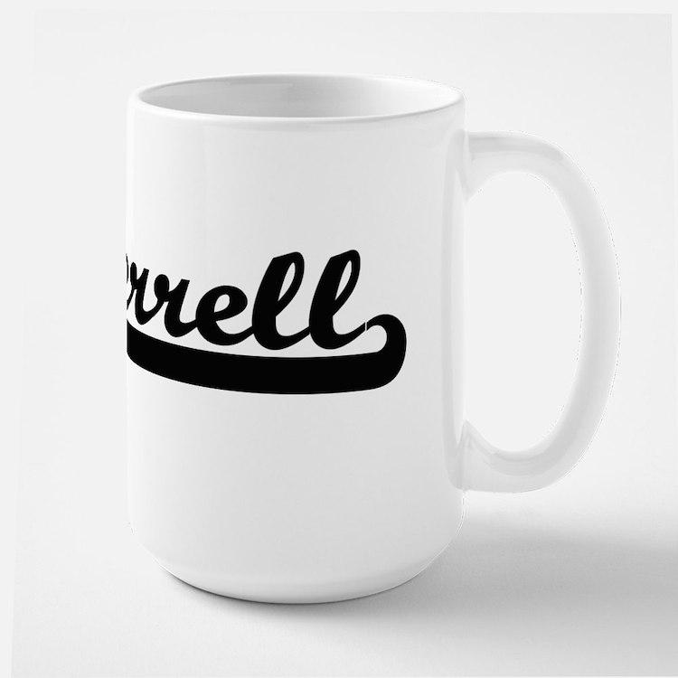 Terrell Classic Retro Name Design Mugs