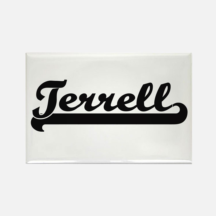 Terrell Classic Retro Name Design Magnets