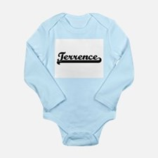 Terrence Classic Retro Name Design Body Suit