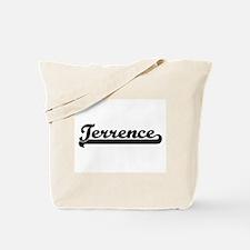 Terrence Classic Retro Name Design Tote Bag