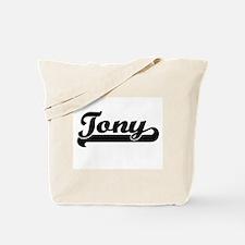 Tony Classic Retro Name Design Tote Bag