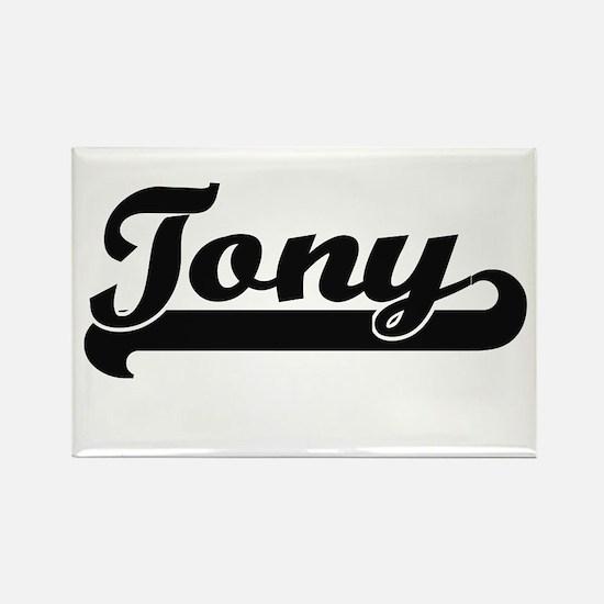 Tony Classic Retro Name Design Magnets