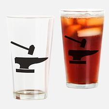 Hammer & Anvil Drinking Glass